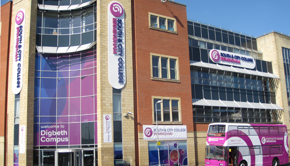 South & City College Birmingham Campus