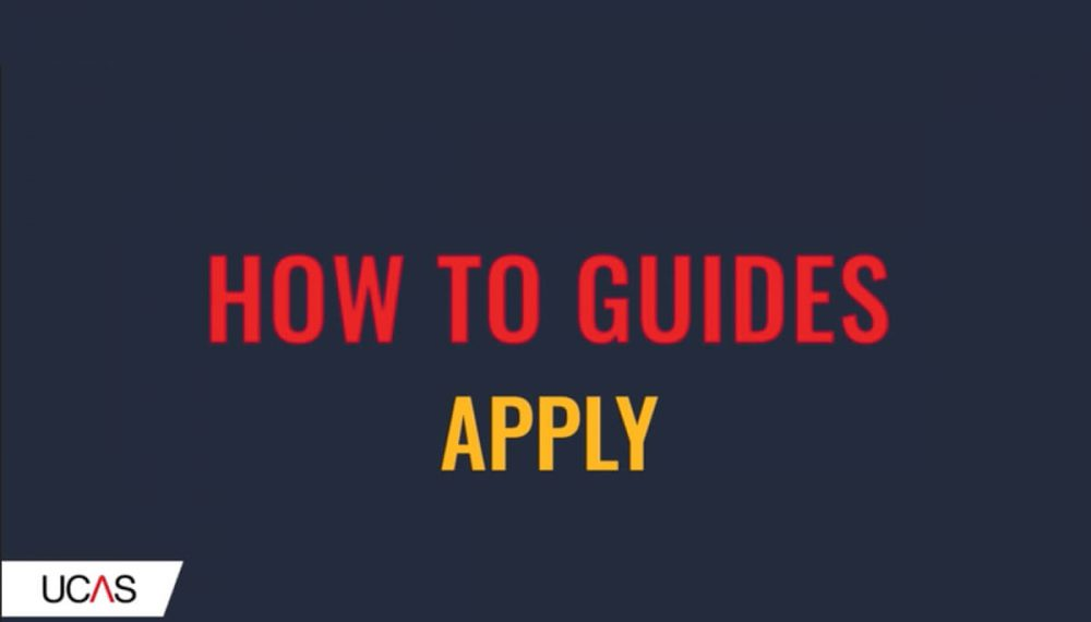 How to apply using UCAS